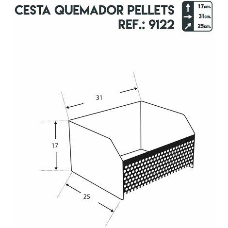 Panier À Pellets - Juan Panadero
