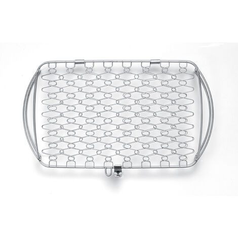 Panier à poissons Weber - acier inoxydable - 2 tailles au choix - Grand modèle