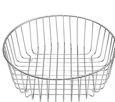 Panier à vaisselle inox 220574 - Ø365mm - pour évier BLANCO RONDO et RONDOVAL