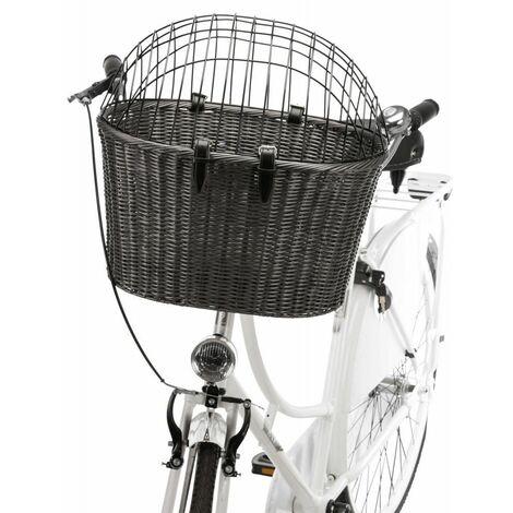 Panier avant pour vélo - 44 × 34 × 41 cm, anthracite