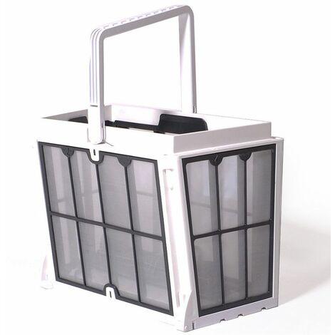 Panier complet avec filtres de printemps 100 microns robot piscine dolphin s200 /s300 / e30 / t35 / t45 / t55i
