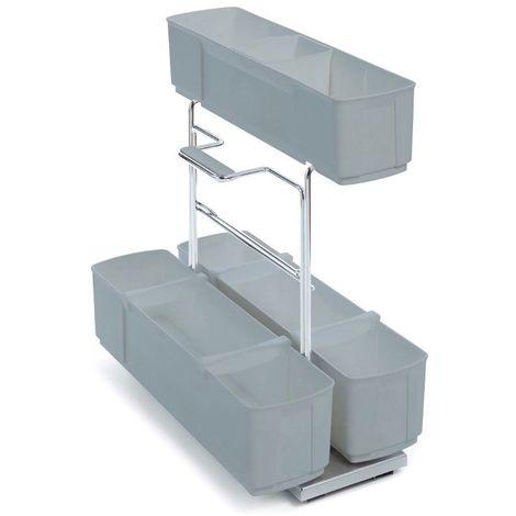 Panier coulissant cleaningagent - Hauteur : 480 mm - Largeur : 298 mm - Profondeur : 480 mm - KESSEBOHMER - Vendu à l'unité