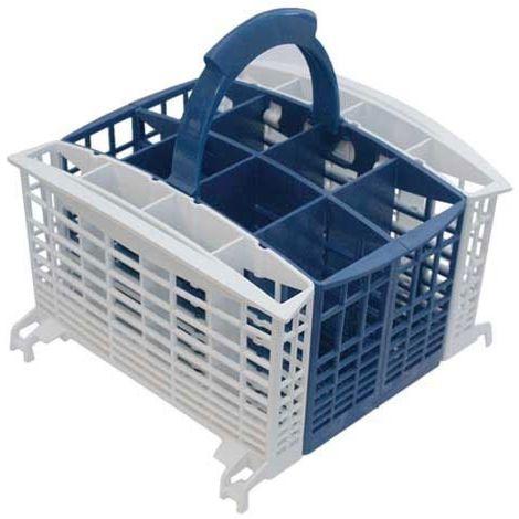 PANIER COUVERTS 'BLEU SATIN' AVEC ACCES.AMOVIBLES pour lave vaisselle ARISTON