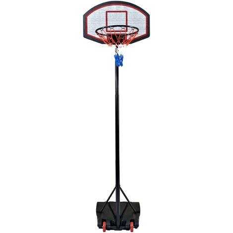 Panier de basket 1.65 à 2.05 m - Noir