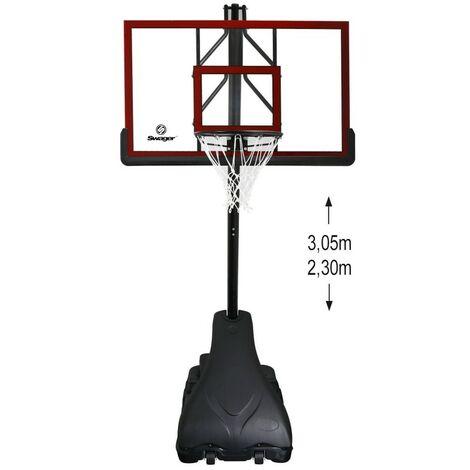 Panier de Basket Ball Deluxe sur Pied Réglable Swager LA