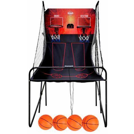Panier de Basket Multi-joueurs BUMBER - Double Shot Basket Ball Game 8 jeux et Compteur digital