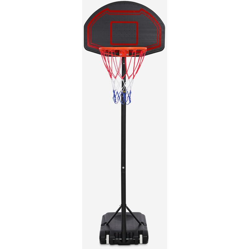 Playtown - Panier de basket portable avec roues réglables en hauteur 160-210 cm LA