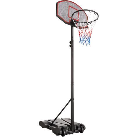 Panier de basket sur pied HARLEM - panier de basket, terrain de basket, panier basket - noir