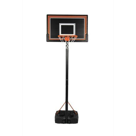 Panier de Basket sur Pied, Mobile et hauteur Réglable de 2.30 à 3.05m - Basketball