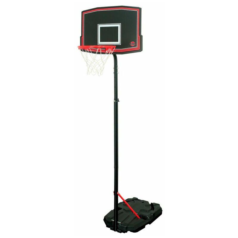 Panier de Basket sur Pied Mobile Phoenix - Bumber - Hauteur réglable de 1m65 à 2m60 - Noir / Orange