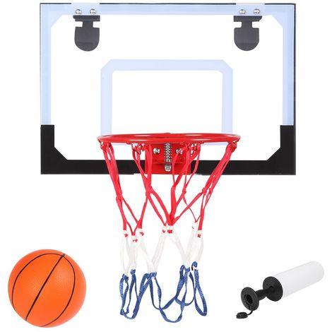 Panier de Basketball HY-013-B66 Mural + Ballon + Pompe - 45 x 30 x 3 CM