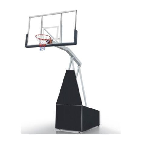 """Panier de Basketball sur Pied Mobile et Rétractable """"Toronto"""" Hauteur Réglable jusqu'à 3m05"""