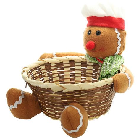 Panier De Rangement De Noel, Bonbons, Fournitures De Decorations De Noel, L