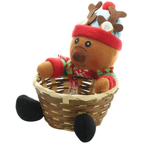 Panier De Rangement De Noel, Bonbons, Fournitures De Decorations De Noel, S