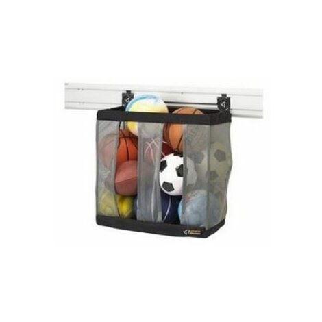 Panier de rangement pour 9 ballons -à clipser sur panneaux/canaux muraux - GAWUXXBLTH.