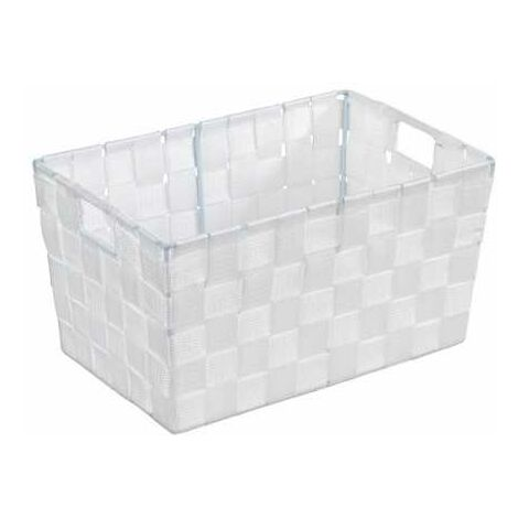 Panier de salle de bains Adria S, blanc WENKO