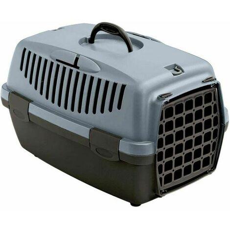 Panier de transports chiens et chats bleu acier Gulliver Animal de 8 kg et plus - Bleu acier