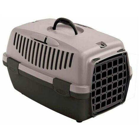 Panier de transports chiens et chats gris rose Gulliver Animal de 8 kg et plus - Gris rose