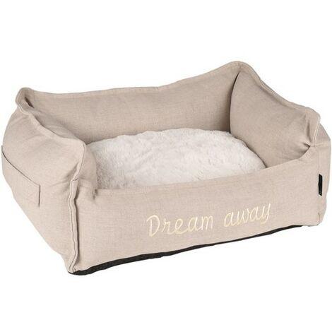 Panier Dream Away beige Désignation : Panier Dream Away   Taille : 90 x 70 cm MORIN IMPORT 519479