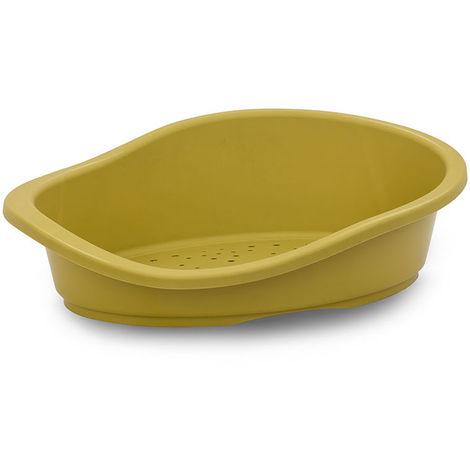Panier plastique – moutarde