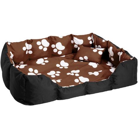 Panier pour chien avec tapis et coussin