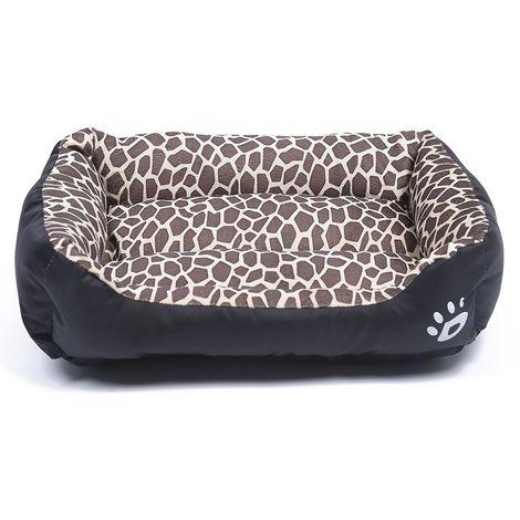 Panier pour chien Coussin Tapis de en peluche pour chien, animal chaud et chaud, quatre saisons, pour taille, XL, 80 × 60 × 16 c