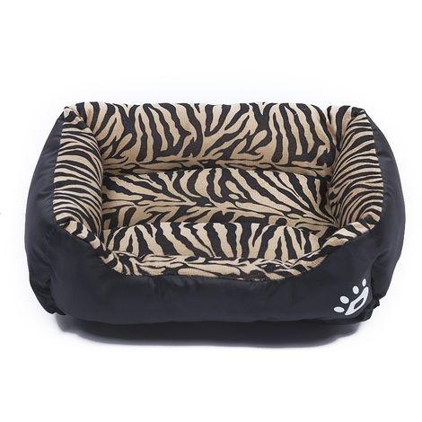 Panier pour chien Coussin Tapis de en peluche pour chien, animal chaud et chaud, quatre saisons, pour taille: XL, 80 × 60 × 16 c
