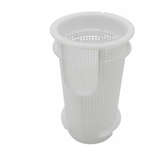 """main image of """"Panier préfiltre rond pour pompe de piscine Astral - Diam 15 cm - Blanc - Linxor"""""""