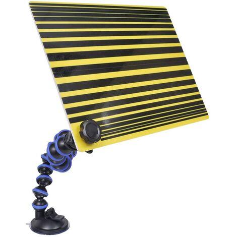 Panneau à lignes pour réparation de bosses sans peinture