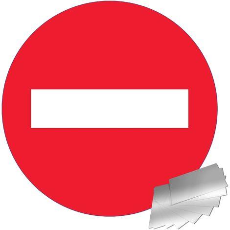 Panneau Aluminium Sens interdit - Novap