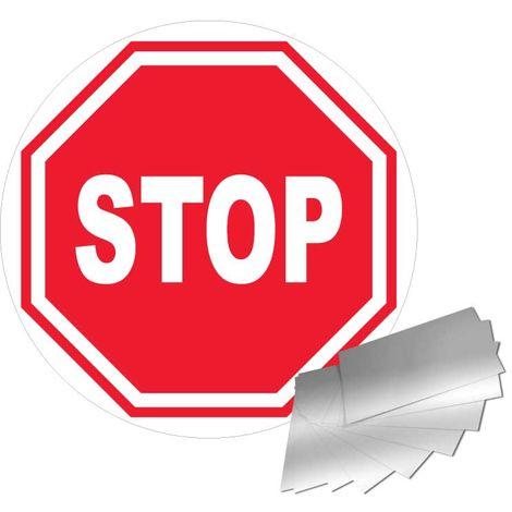 Panneau Aluminium Stop - Novap