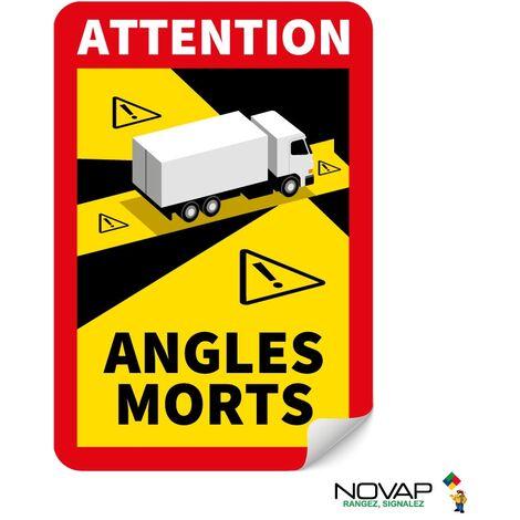 Panneau Angles morts pour camion - Adhésif 250 x 170 mm - 4631011
