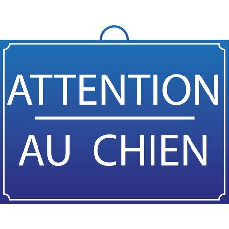 Panneau attention au Chien - Mob/Mondelin