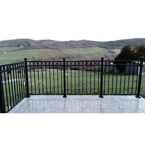 Panneau avec une frise pour clôture 1016X2370