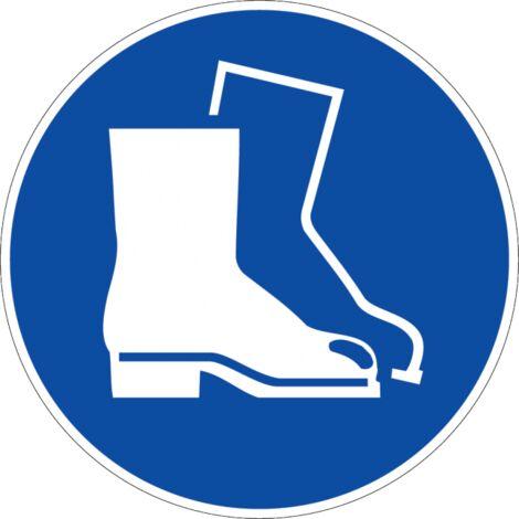 Panneau Chaussures de sécurité obligatoires - Novap