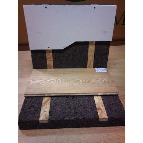 Panneau Corkisol Acermi | Prélambourdé | Ep. 40mm 50X100cm R : 1 - paquet(s) de 4m²