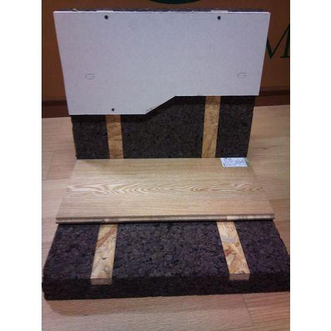 Panneau Corkisol Acermi | Prélambourdé | Ep. 50mm 50X100cm R : 1,25 - paquet(s) de 3m²