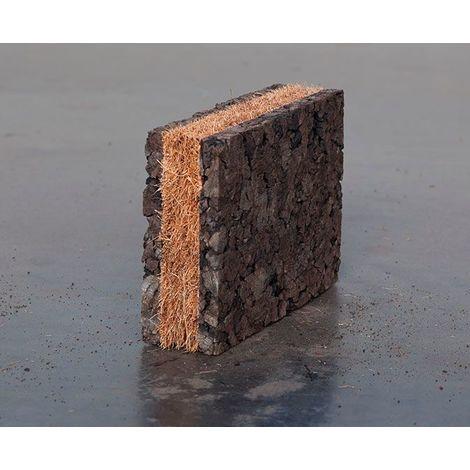 Panneau Corkisol Complexe liège expansé + fibre de coco | Ep.40mm 2A1C - paquet(s) de 4m²