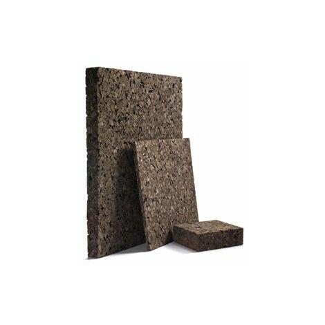 Panneau Corkisol en liège expansé | Acermi | bords droits | Ep. 120mm, 50X100cmR : 3 - paquet(s) de 1m²