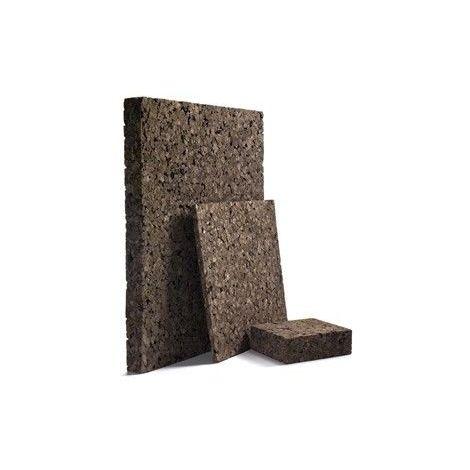 Panneau Corkisol en liège expansé | Acermi | bords droits | Ep. 60mm, 50X100cm R : 1,5 - paquet(s) de 2.5m²