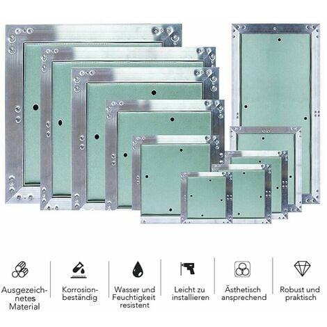 Panneau d'accès 40x40CM aluminium GK insert plaque de plâtre d'accès Porte de maintenance