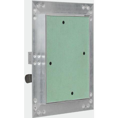 Panneau d'accès cadre aluminium inspection plâtre 30x60cm porte Alu