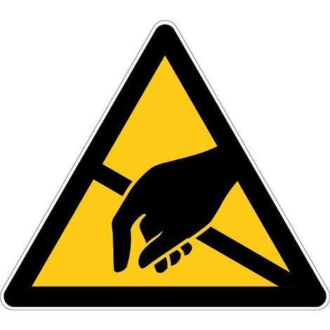 Panneau Danger électrostatique ESD - Novap