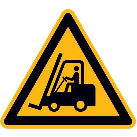Panneau d'avertissement Alu Attention Chariot élevateur SL315mm