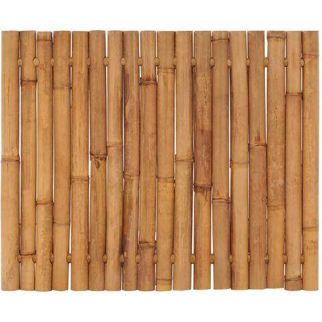 Panneau de clôture de jardin Bambou 120x100 cm