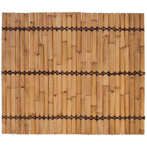 Panneau de clôture de jardin Bambou 170x150 cm