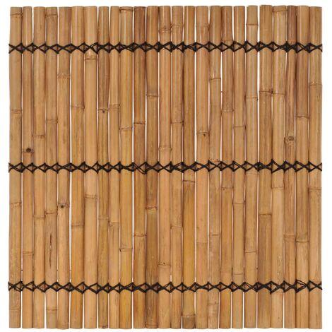 Panneau de clôture de jardin Bambou 170x170 cm