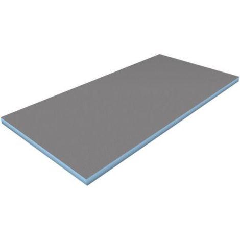Panneau de construction étanche Wedi en polystyrène extrudé XPS 1250 x 600 mm - épaisseur 4 mm