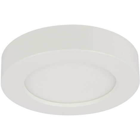 Panneau de construction LED, 1200 lumens, dimmable, circuit CCT, D 17,7 cm, PAULA