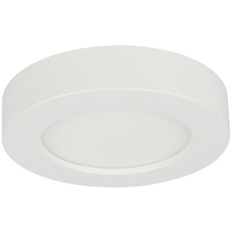 Panneau de construction LED, 1800lm, dimmable, circuit CCT D 22,6 cm, PAULA